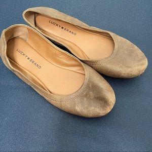 Lucky Brand Ballet Flats size 10